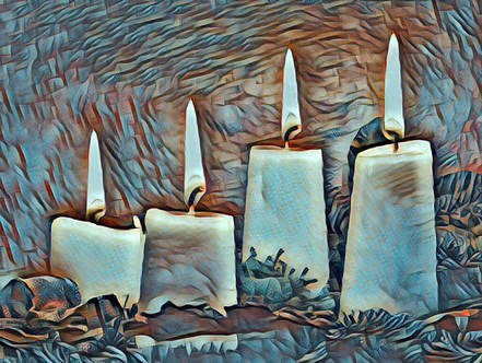 Litany with Twelve candles