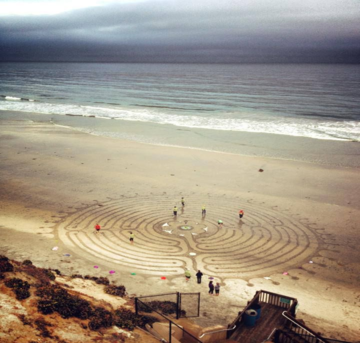 Labyrinths in the Sand